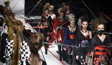 Седмицата на модата в Токио показа новото лице на кимоното