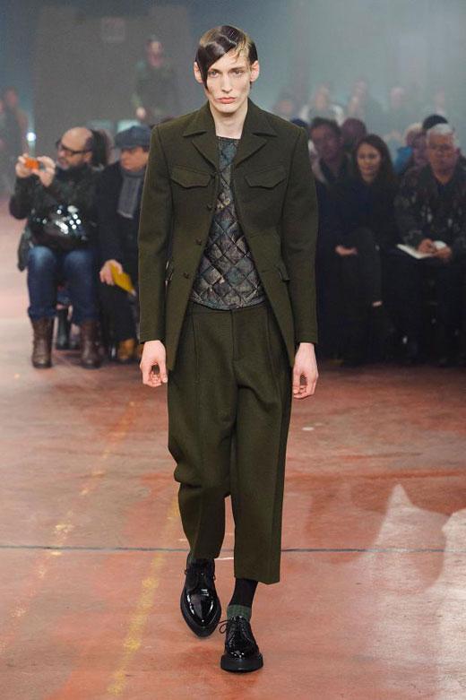 Зеленото в мъжката мода - ключов цвят за сезона