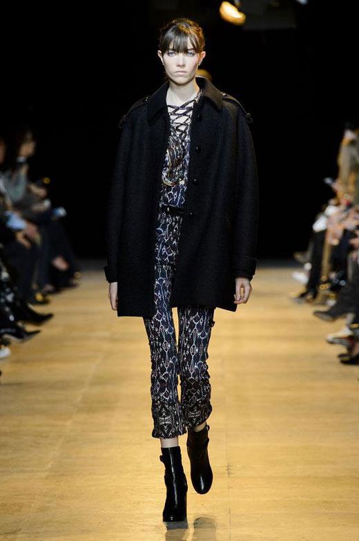 Модни тенденции Есен/Зима 2015-2016: Милитъри стил