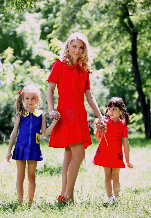 Деси Банова и Йоана с фотосесия за VHK Fashion на празника на детето