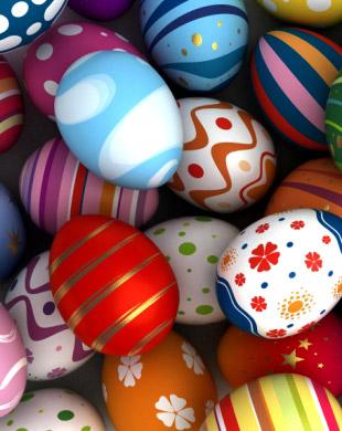 Великденски яйца и обичаи за багренето им от България, Чехия и Словакия