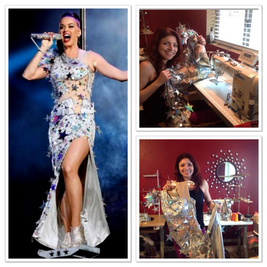Designer Viktoriya Koleva worked with Katy Perry on her Super Bowl costumes