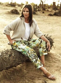 Колекция Violeta by Mango Пролет-Лято 2015 - мода за по-пищни дами