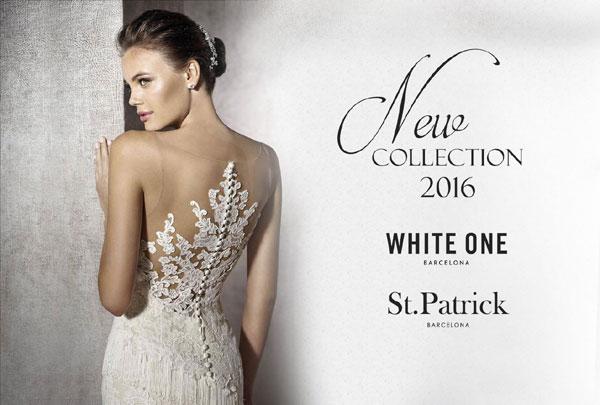 Цялата колекция 2016 на White One & St. Patrick е вече налична в Сватбен Център Брилянтин