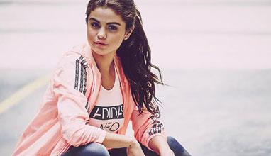 Селена Гомес и adidas neo представят колекция Есен 2015