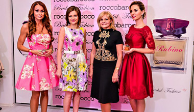 Bridal Fashion представи Rubino и Pink Jardin de Capri - новите аромати на Roccobarocco
