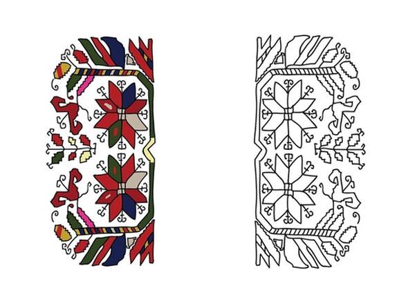Символика на цветовете и ромбовете в българската шевица