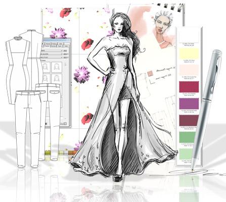 Компютърен моден дизайн и мениджмънт