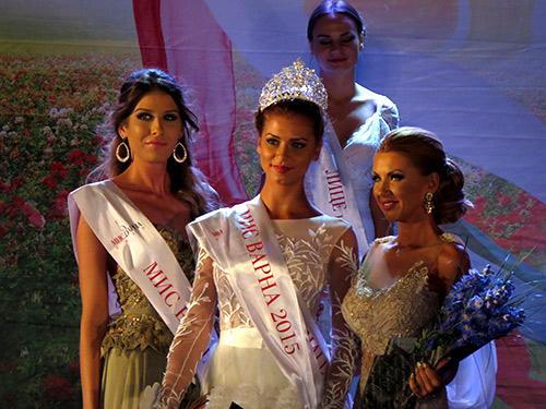 Мис Варна 2015 е Марина Димитрова