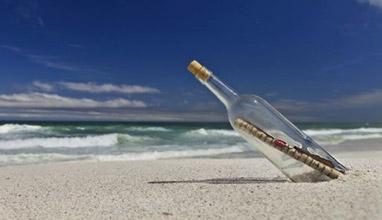 Любопитно: Писмо в бутилка открито в морето след 108 години