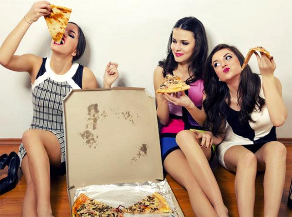 Дамите поръчват все повече храна за вкъщи
