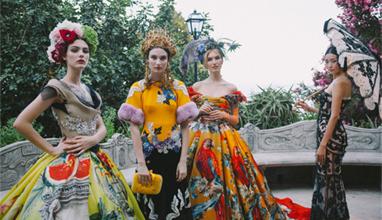 Dolce & Gabbana с ревю на висшата мода - Alta Mоda