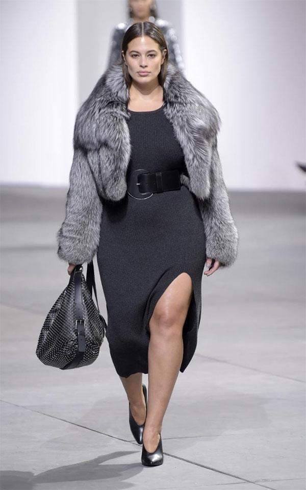 Световно известен дизайнер избра XXL модела Ашли Греъм за най-новата си колекция