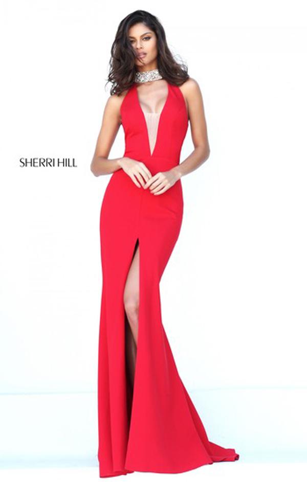 Блясъка на Sherri Hill в Сватбен център Брилянтин от януари 2017г.
