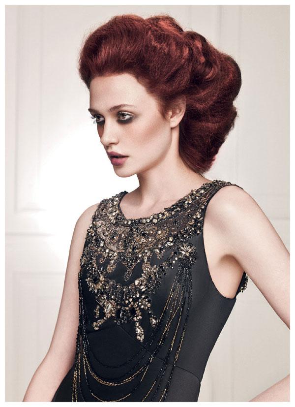 Певицата Марина Кискинова на корицата на Coiffure Beauty