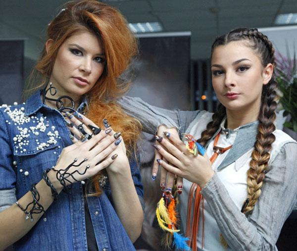 Автентичен нейл арт, модни уникати и избелели материи вдъхновиха CND Fashion Night Out 2016