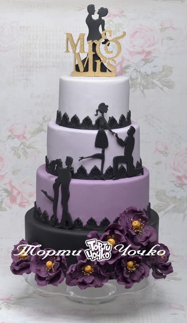 Всички булки говорят за... перфектната сватбена торта