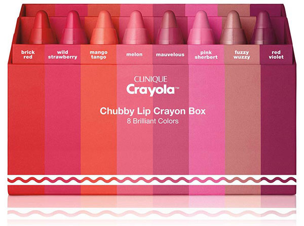 Clinique представя лимитирана серия червила - Crayola