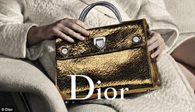 Dior повери отново на Дженифър Лоурънс рекламата на нова колекция чанти