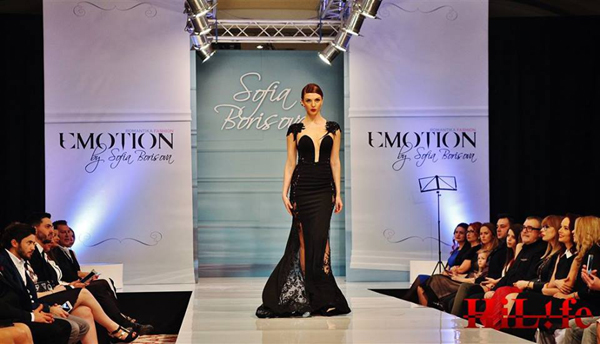 Emotion 2018 by Bulgarian designer Sofia Borisova Romantika Fashion