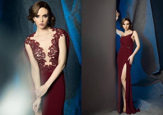 Абитуриентска колекция на София Борисова 2016 - мода и диаманти