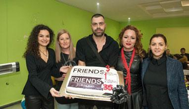 FRIENDS HAIR & BEAUTY STUDIO празнуват трети рожден ден