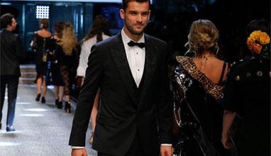 Тенисист номер 1 на България - Григор Димитров с участие в ревю на Dolce and Gabbana