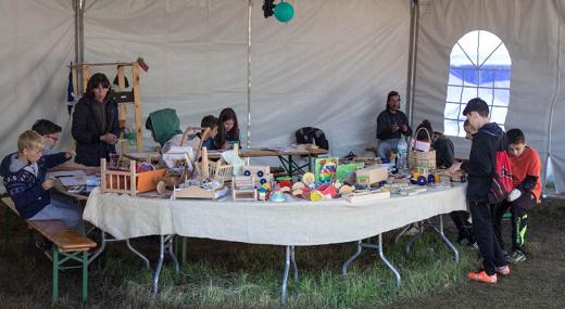 Детска творителница и занаятчийски изложения на Ирин Пирин - Събора на Югозапада