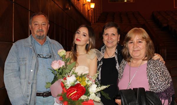Марина Кискинова – 4 години в класа на Стефан Данаилов