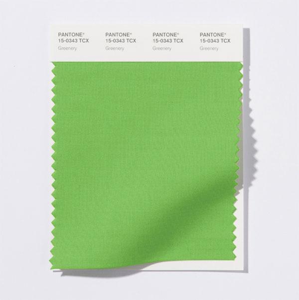 Цветът на 2017: Pantone 15-0343 Greenery