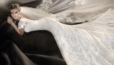 Нови сватбени рокли на Pronovias 2017 в Bridal Fashion
