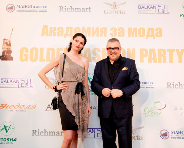 Golden Fashion Party