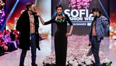 Наталия Гуркова на сцената на SOFIA FASHION WEEK 2016