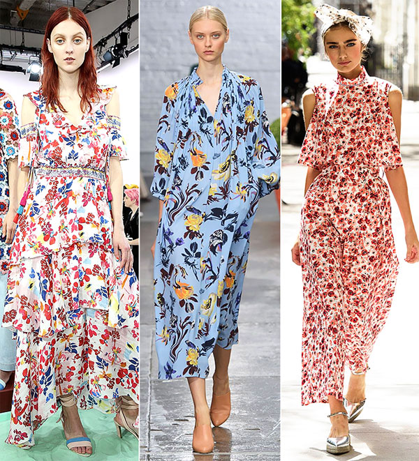 Ключови тенденции при цветовете и принтовете за Пролет 2017