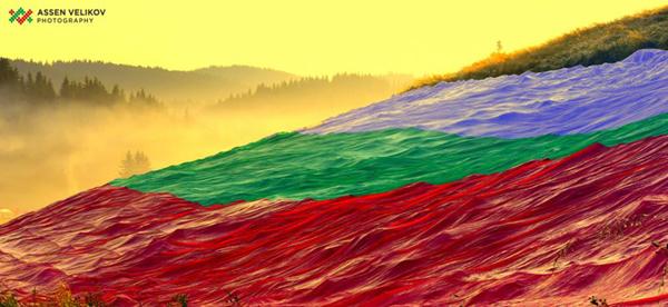 Хиляди знамена в Южния парк за Деня на Независимостта