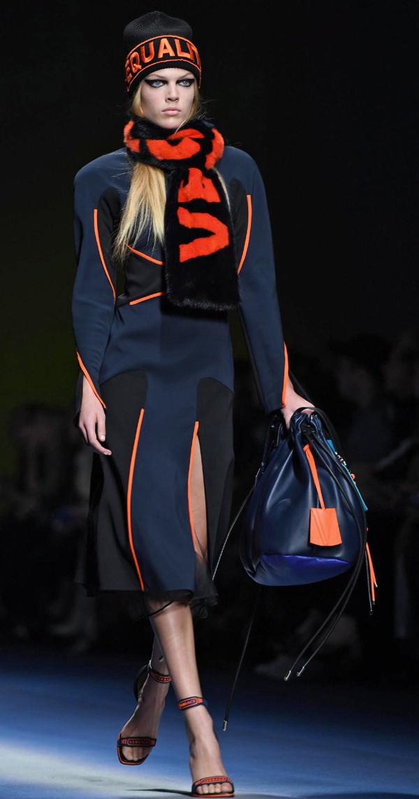 Versace с призив да се борят за равноправие, свобода и надежда в колекция Есен/Зима 2017-2018