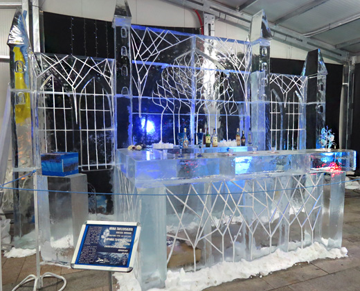 Ледените скулптури в Русе