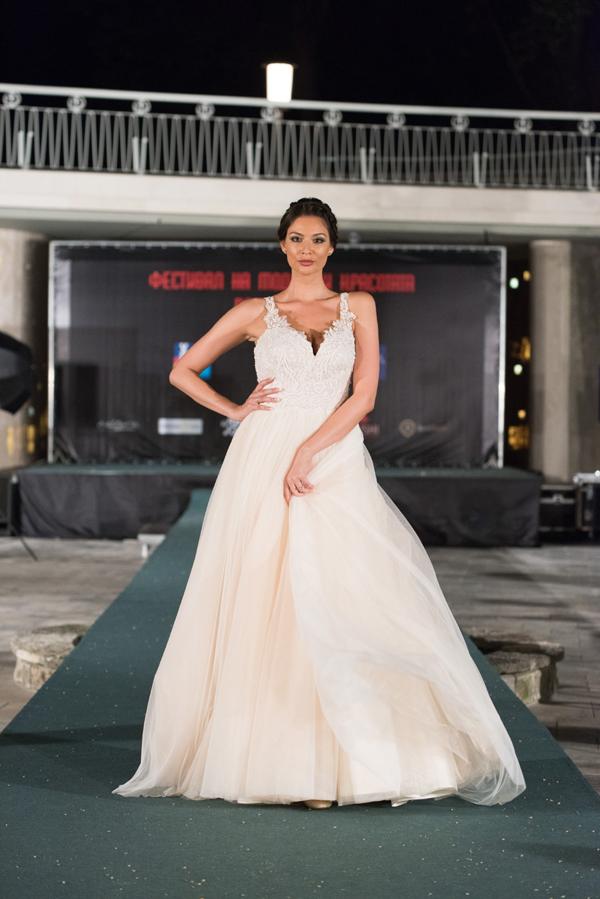 Сватбен бутик ALEGRA представиха Flavor of champagne по време на Фестивала на Модата и Красотата 2018
