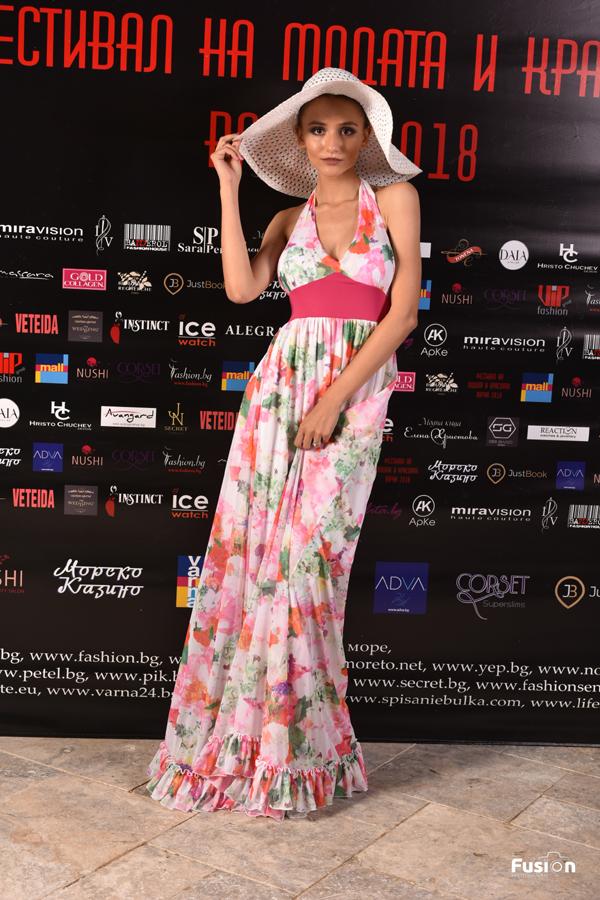 Модна къща Бандерол на Фестивал на модата и красотата 2017