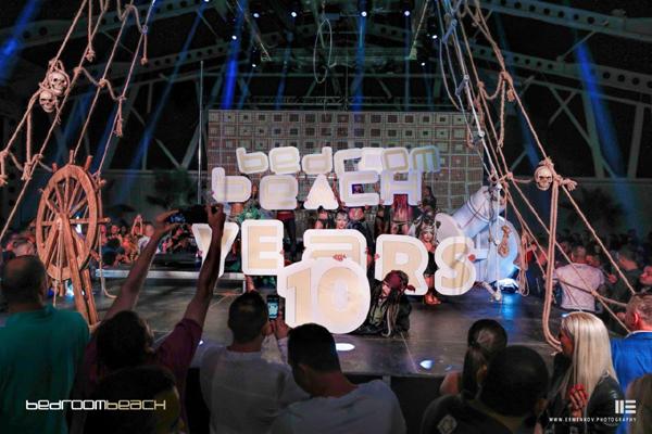 Bedroom Beach поднесе зашеметяващ спектакъл по случай 10-тия си рожден ден