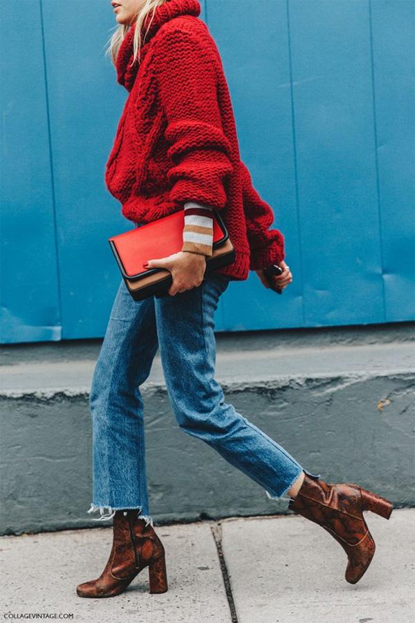 Cropped Дънките - всичко от което се нуждаем през есента