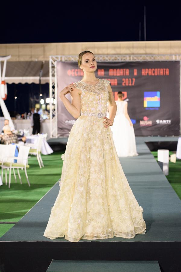 Христо Чучев Дизайн на Фестивала на модата и красотата 2017