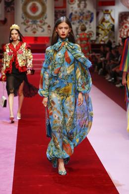 Dolce and Gabbana представиха Пролет/Лято 2017 в Милано