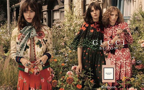 Дакота Джонсън рекламно лице на последния аромат от Gucci
