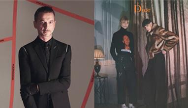 Кампания на Dior с участието на член от Depeche Mode