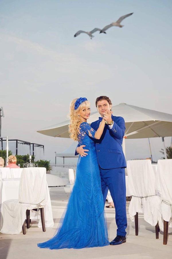 Тектописецът Дони Василева се омъжи в тоалет от Bridal Fashion