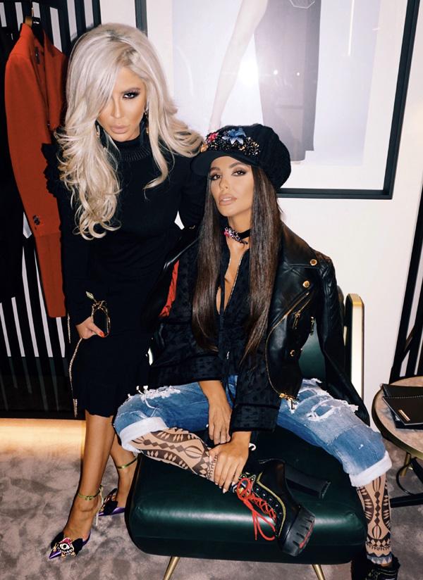Андреа и Николета Лозанова модни икони