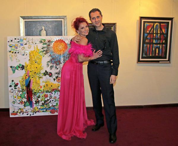Музика, мода, живопис и танц завладяха зала