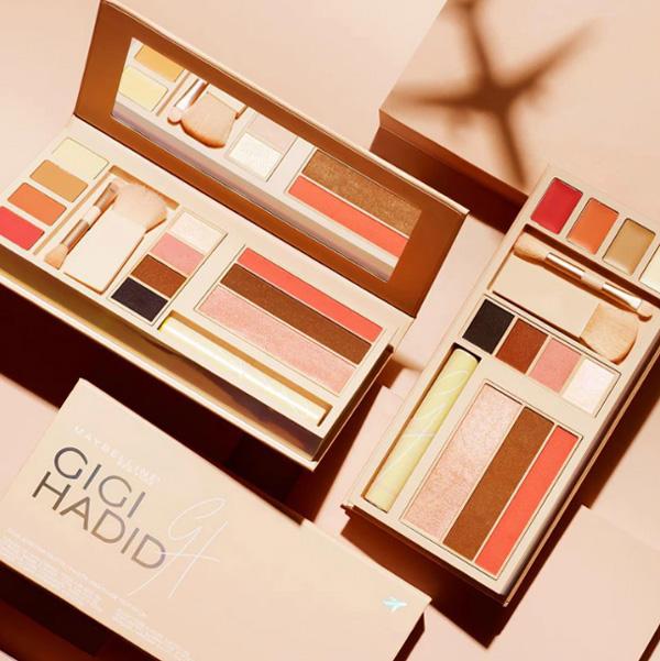 Джиджи Хадид в колаборация с Maybelline за създаването на козметична палитра