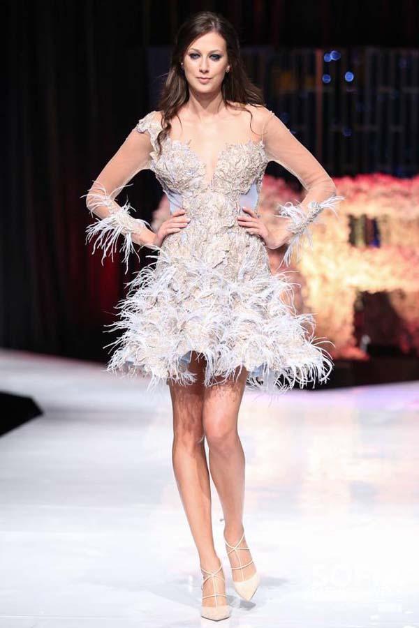 Христо Чучев блесна с дизайнерски рокли - бижута